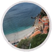 Perspectives Round Beach Towel