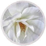 Petal Envy Round Beach Towel