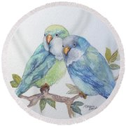 Pete And Repete Round Beach Towel