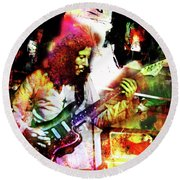 Peter Green Round Beach Towel
