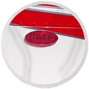 Peterbilt Logo Round Beach Towel