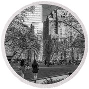 Philadelphia Street Photography - 0902 Round Beach Towel