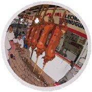 Philippines 4057 Lechon Round Beach Towel