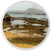 Phillip Island 01 Round Beach Towel