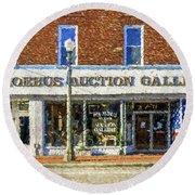 Phoebus Auction Gallery Round Beach Towel