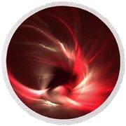 Phoenix Round Beach Towel