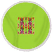 Pic10_coll1_11122017 Round Beach Towel