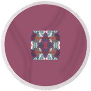 Pic11_coll2_14022018 Round Beach Towel