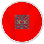 Pic12_coll1_11122017 Round Beach Towel
