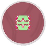 Pic13_coll2_14022018 Round Beach Towel