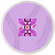 Pic1_coll1_14022018 Round Beach Towel