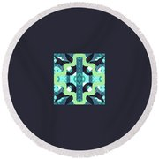 Pic1_coll2_14022018 Round Beach Towel