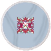 Pic2_coll1_14022018 Round Beach Towel