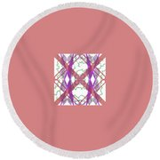 Pic2_coll2_14022018 Round Beach Towel