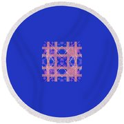 Pic3_coll1_14022018 Round Beach Towel