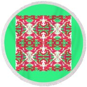 Pic4_coll1_07072018 Round Beach Towel
