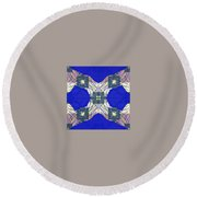 Pic4_coll2_14022018 Round Beach Towel