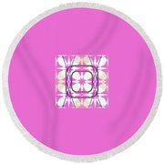 Pic5_coll1_11122017 Round Beach Towel