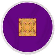 Pic5_coll1_14022018 Round Beach Towel