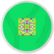 Pic5_coll2_14022018 Round Beach Towel