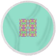 Pic6_coll2_14022018 Round Beach Towel