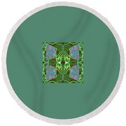 Pic7_coll2_14022018 Round Beach Towel