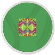 Pic8_coll1_11122017 Round Beach Towel