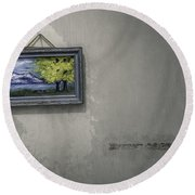 Picture Of Hope Round Beach Towel