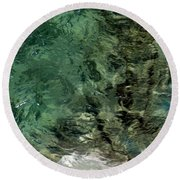 Round Beach Towel featuring the photograph Pictured Rocks IIi by Kenneth Campbell