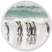 Pied Piper. Round Beach Towel
