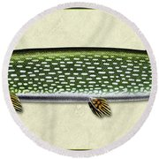Pike Id Round Beach Towel