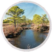 Pinelands Water Way Round Beach Towel