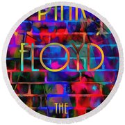 Pink Floyd The Wall Round Beach Towel
