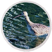 Piper Profile Round Beach Towel