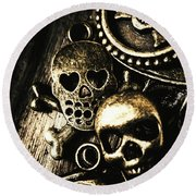 Round Beach Towel featuring the photograph Pirate Treasure by Jorgo Photography - Wall Art Gallery