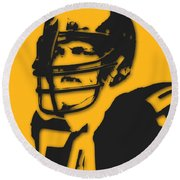 Pittsburgh Steelers Jack Lambert Round Beach Towel