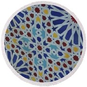 Round Beach Towel featuring the photograph Place The Sun Sets by Jamart Photography