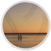 Placid Round Beach Towel