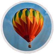 Plainville Balloons 3 Round Beach Towel