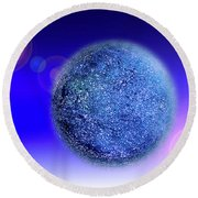 Planet Round Beach Towel