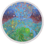 Plasma Round Beach Towel