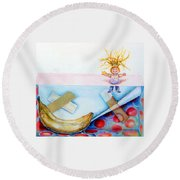 Play Day Round Beach Towel