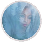 Play Misty For Me Round Beach Towel