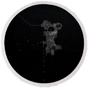 Play With It Round Beach Towel