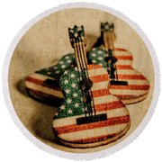 Played In America Round Beach Towel