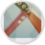 Playground 1 Round Beach Towel