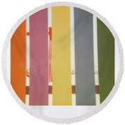 Playground 4 Round Beach Towel