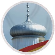 Pleasure Dome Round Beach Towel