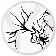 Plethora Round Beach Towel