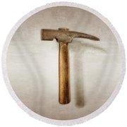 Plumb Masonry Hammer Round Beach Towel